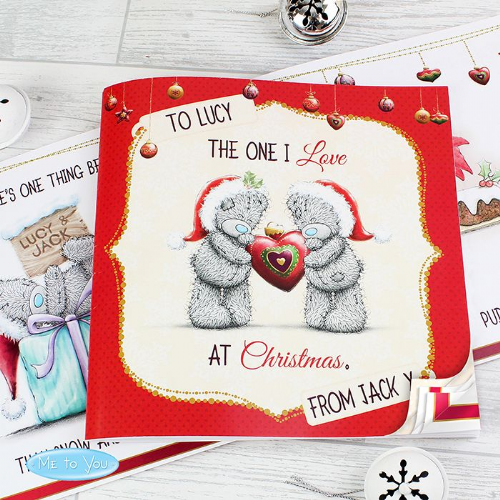 Personalised Christmas Story Book For The One I Love - Christmas Gift For Girlfriend and Boyfriend